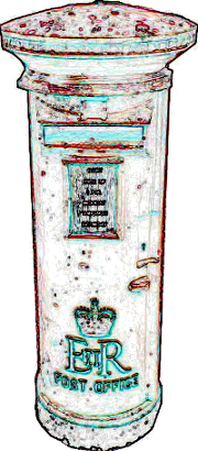 Letterbox as a symbol for the Communication between Computer program and user