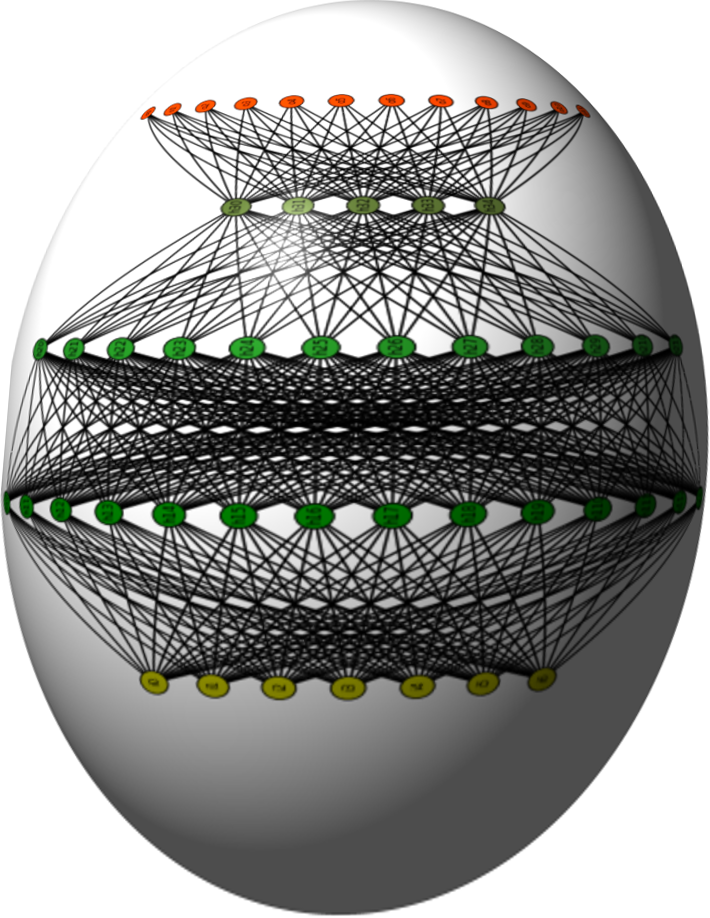Neural Network on an Egg as a symbol for neural networks from scratch